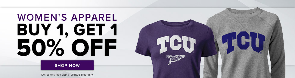 Picture of women's shirts. Women's apparel buy 1, get 1 50 percent off. Exclusions may apply. Limited time only. Click to shop now.