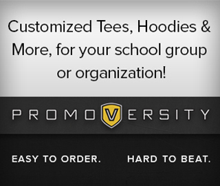 Customized Tees, Hoodies & More, for your school group or organization! Promoversity. Easy to order, hard to beat. Click to shop.